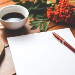 Writing and coffee