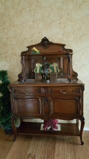 19th century antique sideboard